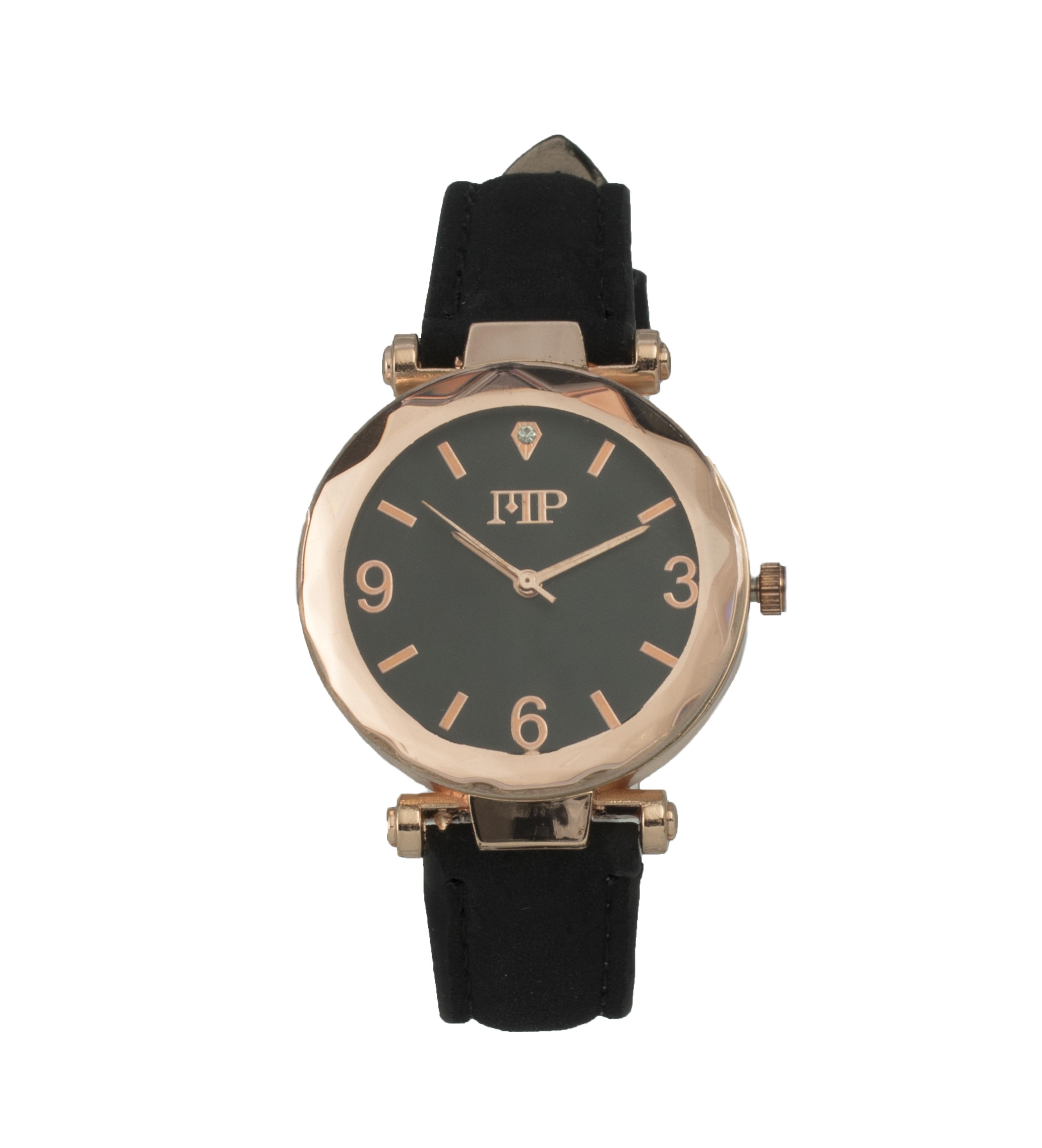 Comprar Marsan Piel Relógio analógico preto Goldstein