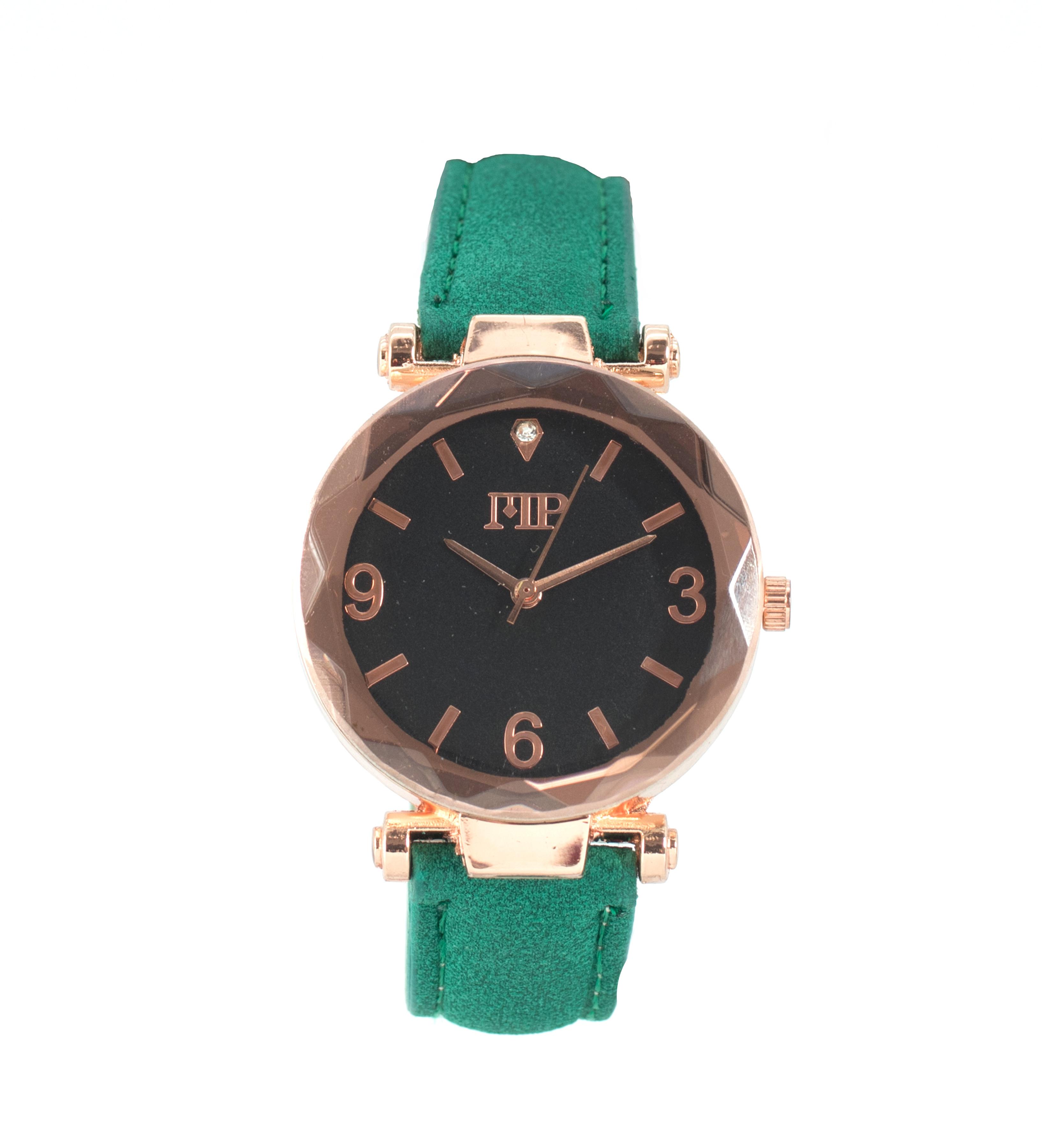 Comprar Marsan Piel Goldstein Vert Analogique Horloge