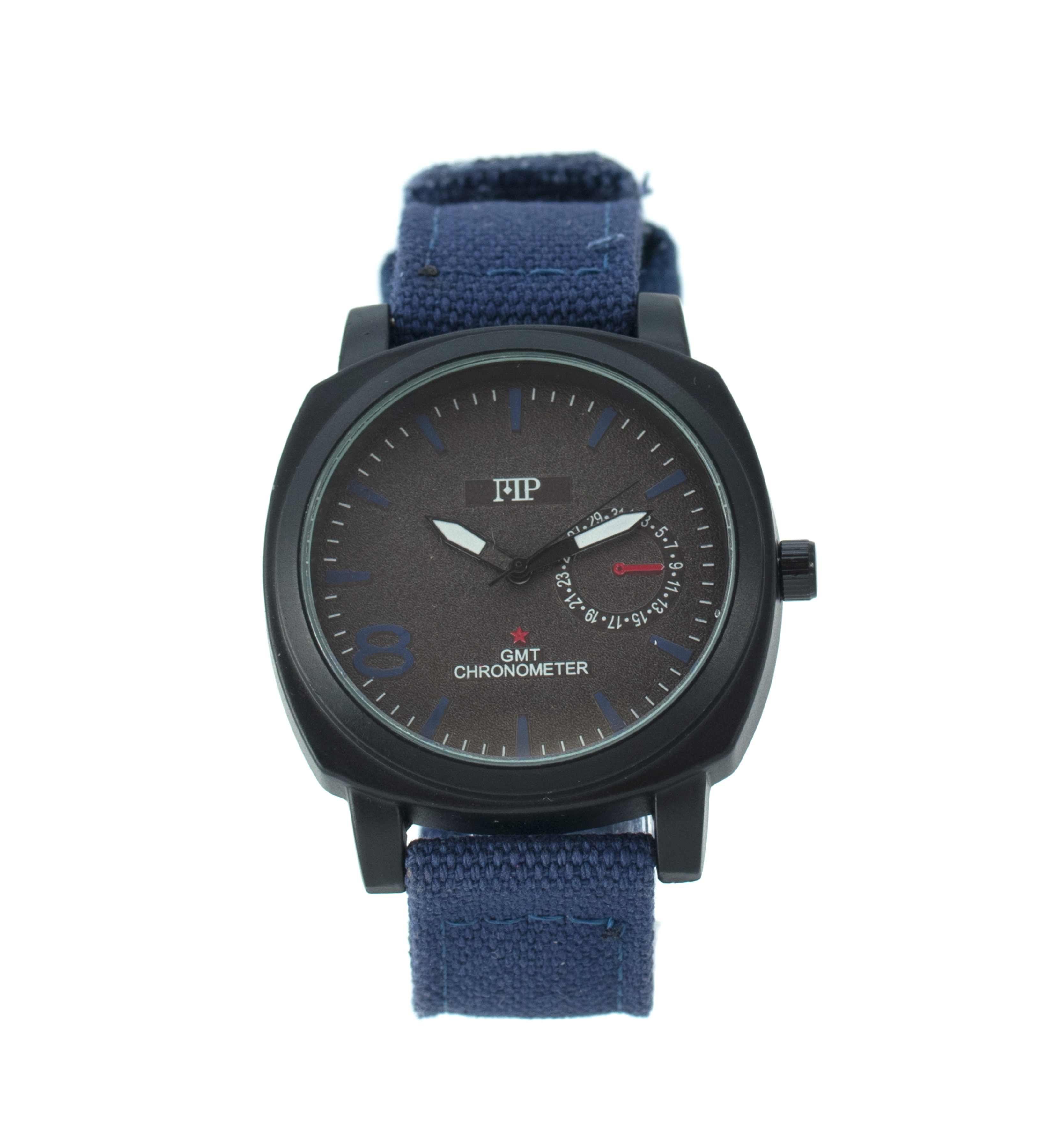 Comprar Marsan Piel Horloge analogique Gotzon bleue