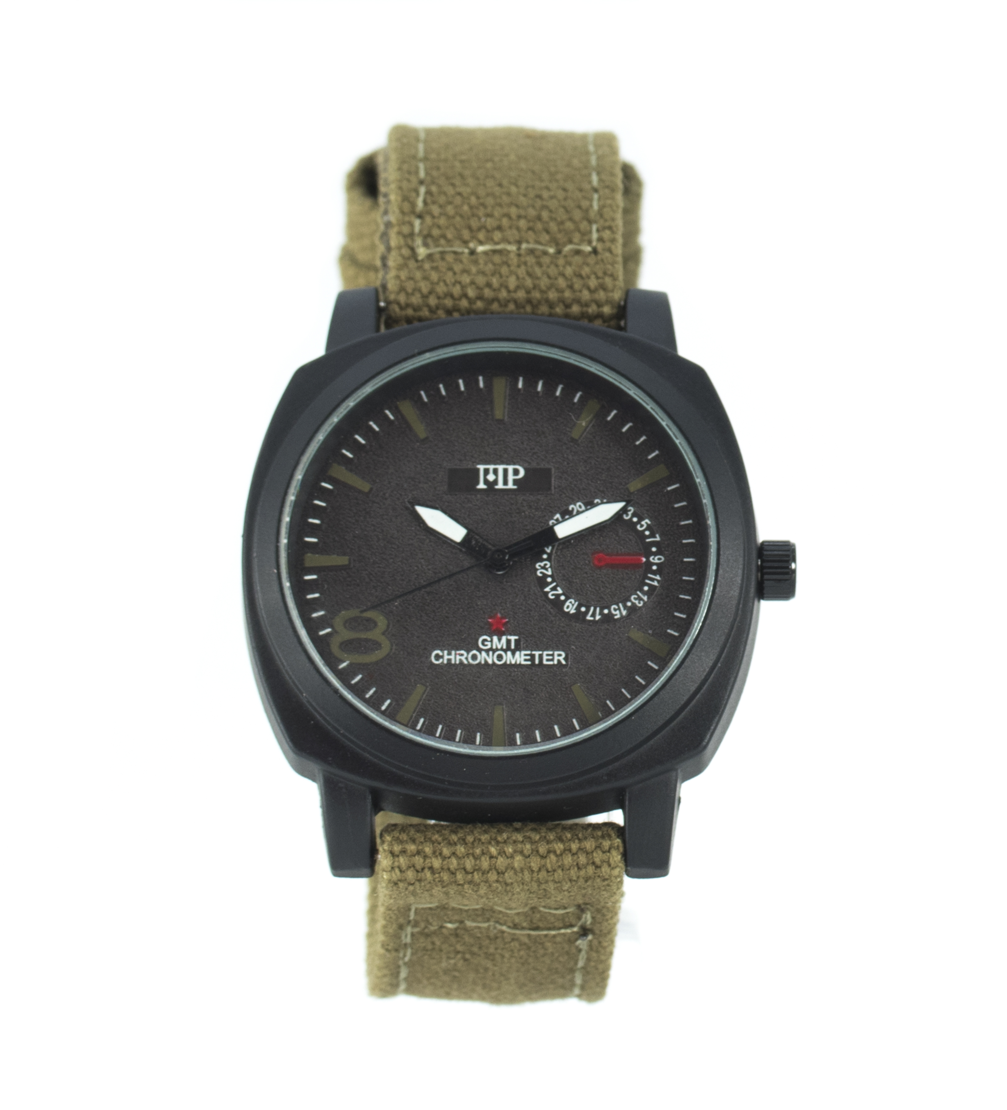 Comprar Marsan Piel Horloge analogique Gotzon verte