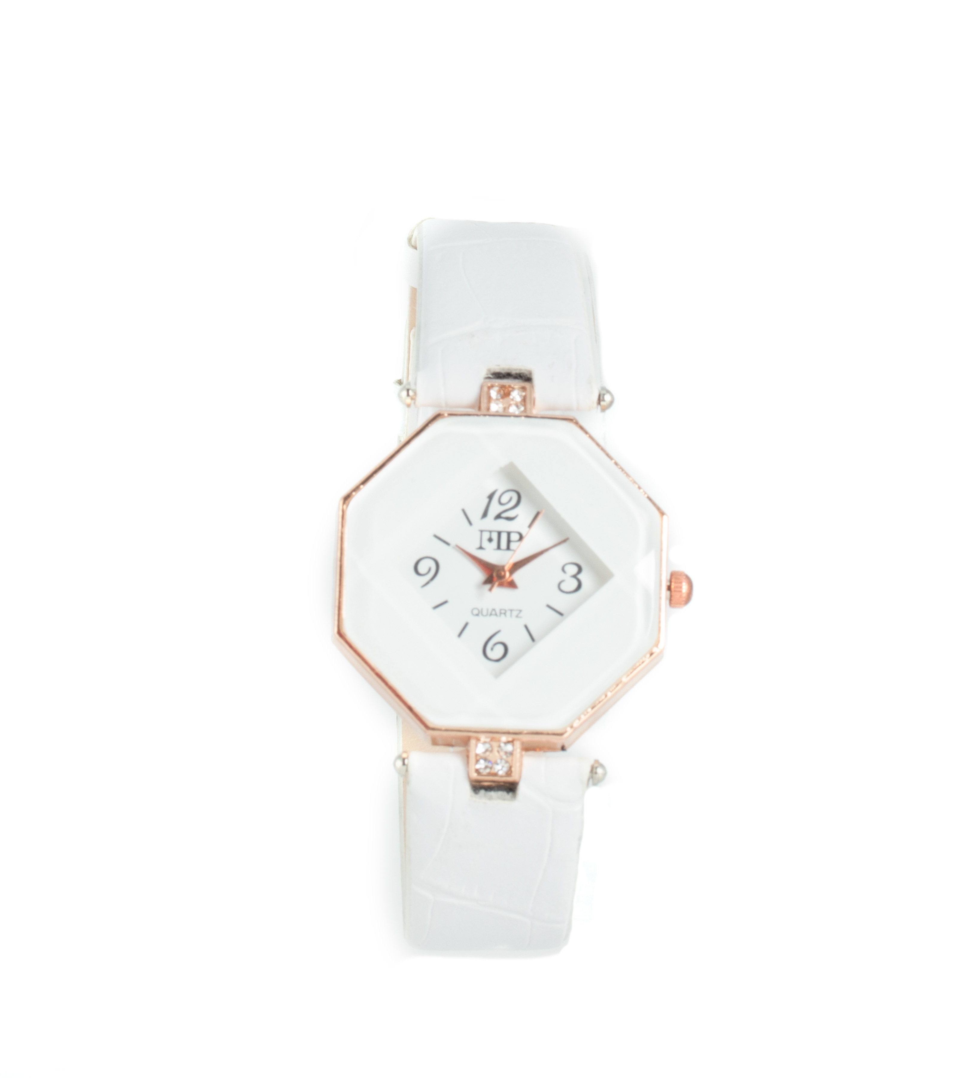 Comprar Marsan Piel Analogue clock Icky white