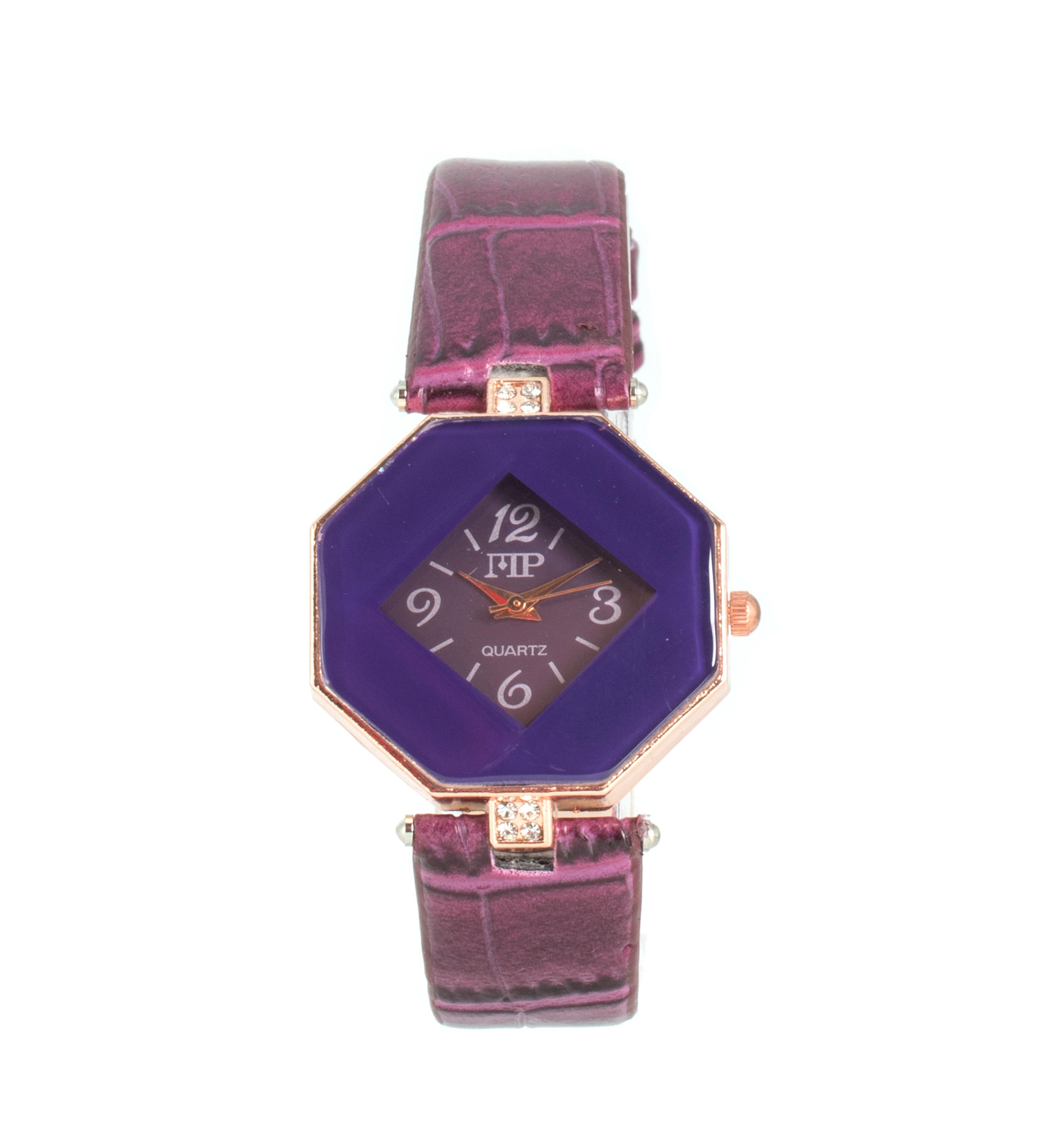 Comprar Marsan Piel Reloj analógico Icky morado