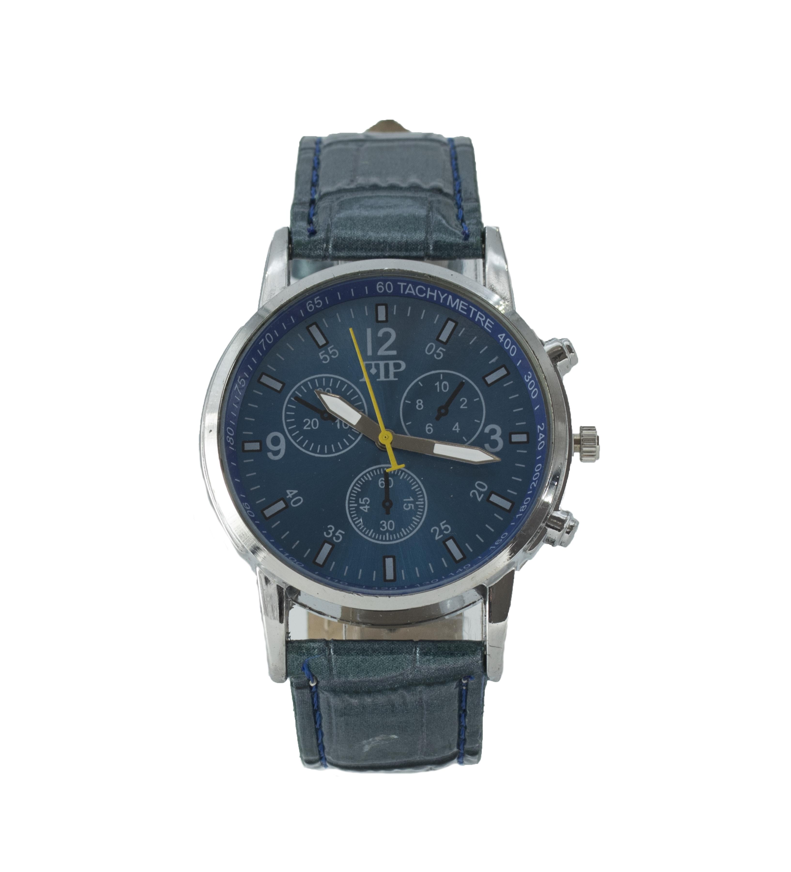 Comprar Marsan Piel Horloge analogique Iko bleu