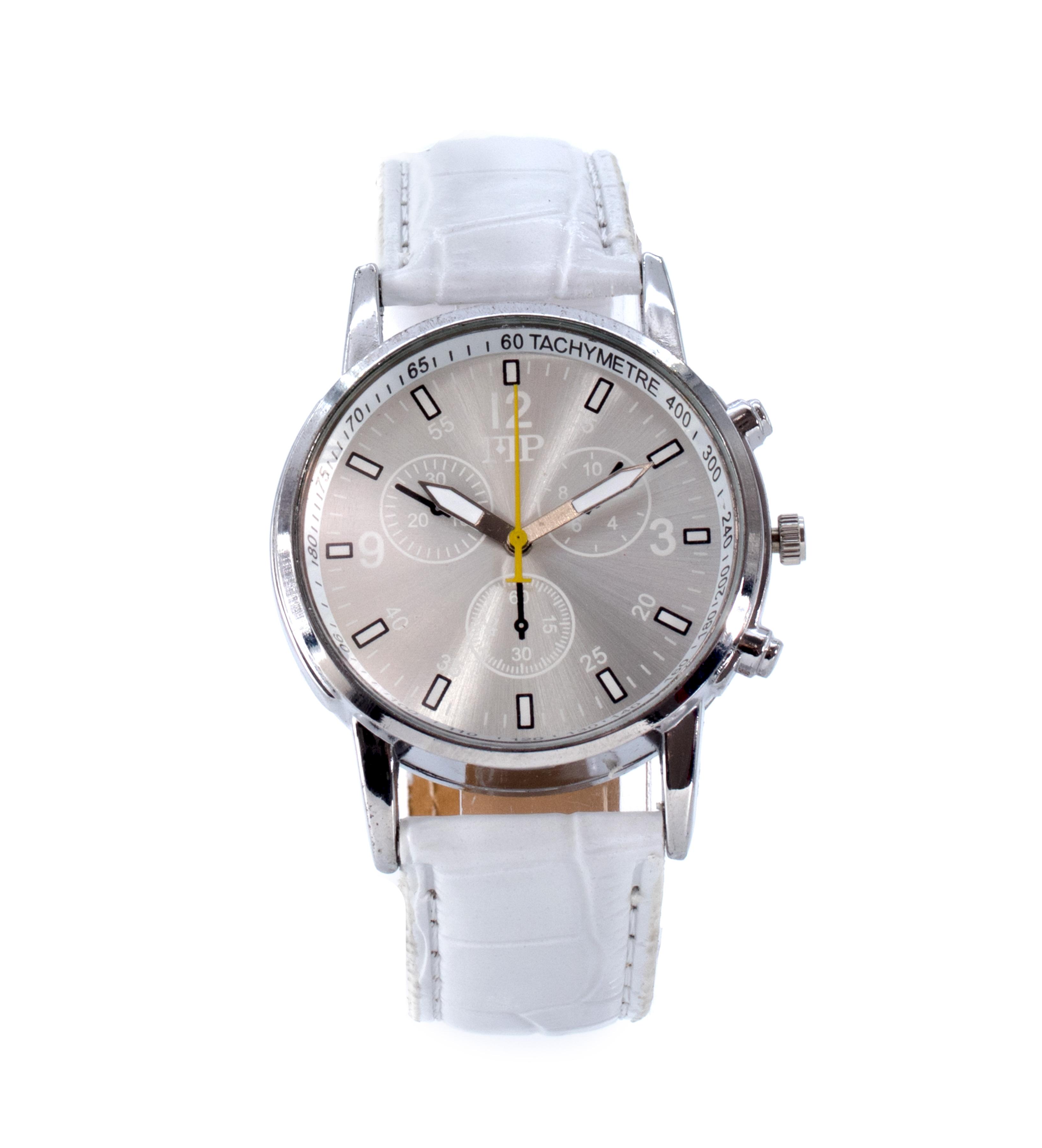 Comprar Marsan Piel Horloge analogique Iko blanc