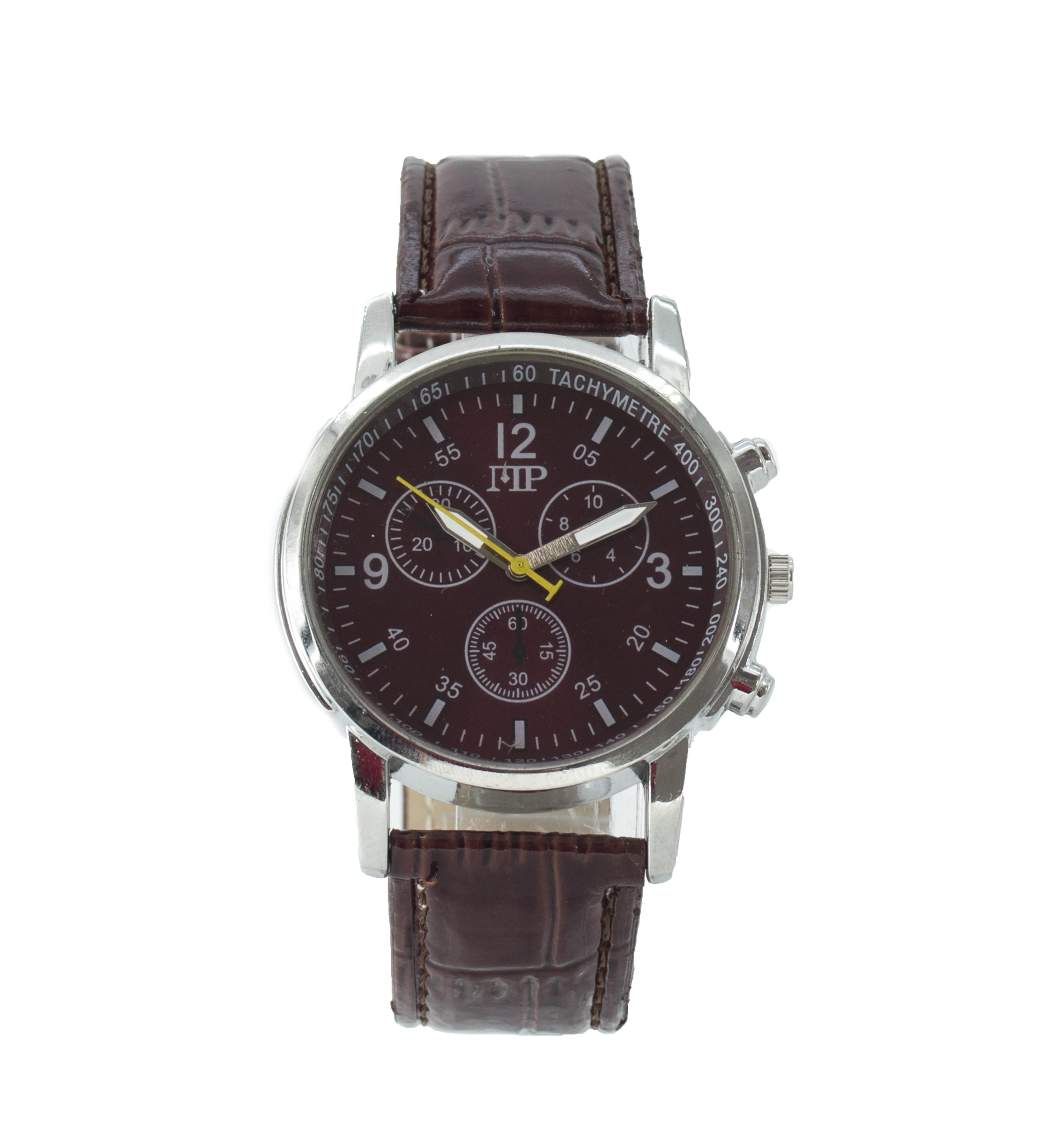 Comprar Marsan Piel Relógio analógico marrom Iko