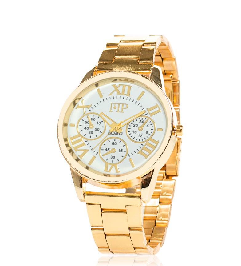 Comprar Marsan Piel Analogue clock Jima white, gold