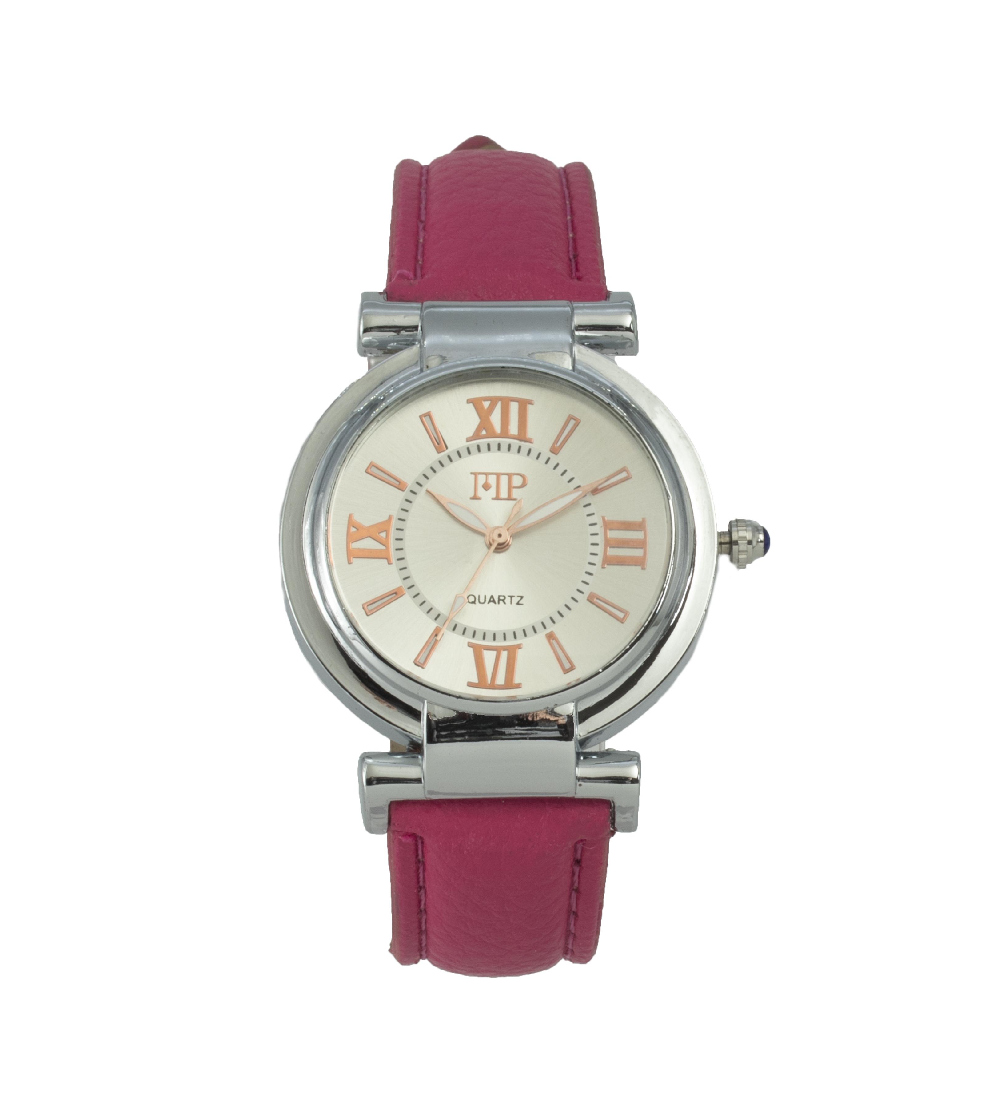 Comprar Marsan Piel Analogue clock Kan red
