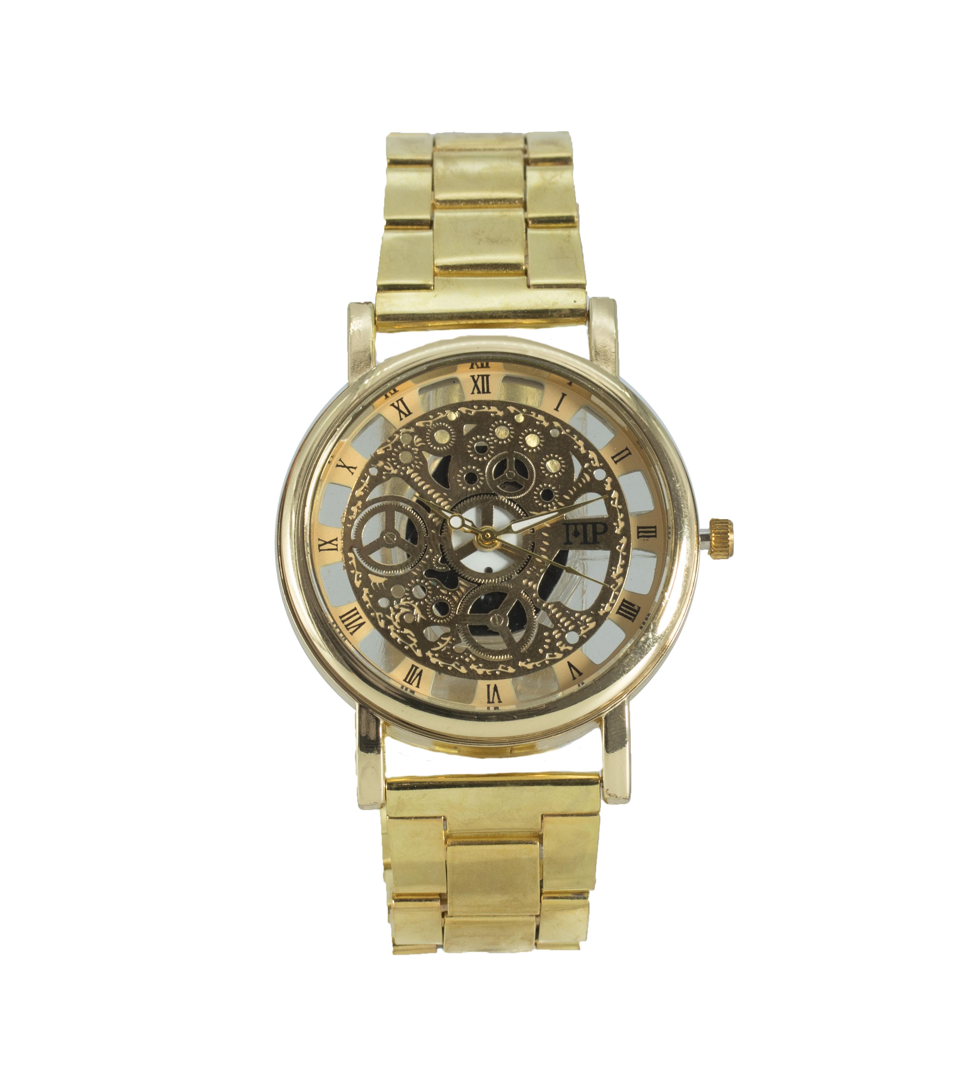 Comprar Marsan Piel Relógio analógico de ouro Kle
