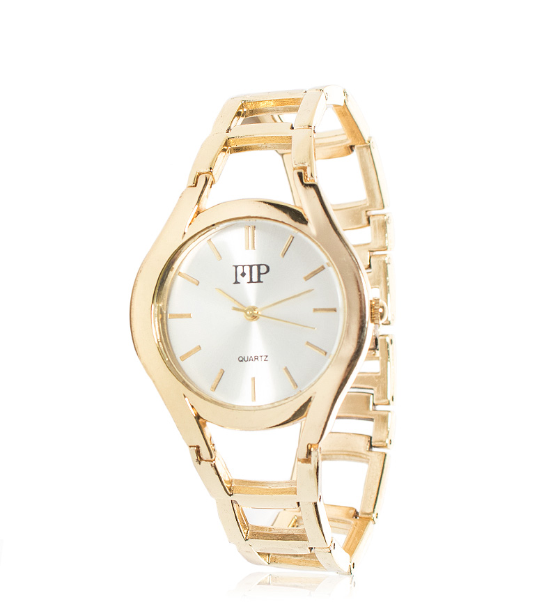Comprar Marsan Piel Golden Nike analog watch