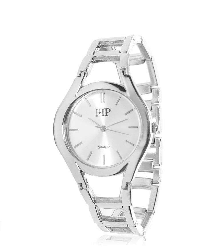 Comprar Marsan Piel Silver Niké analogue clock