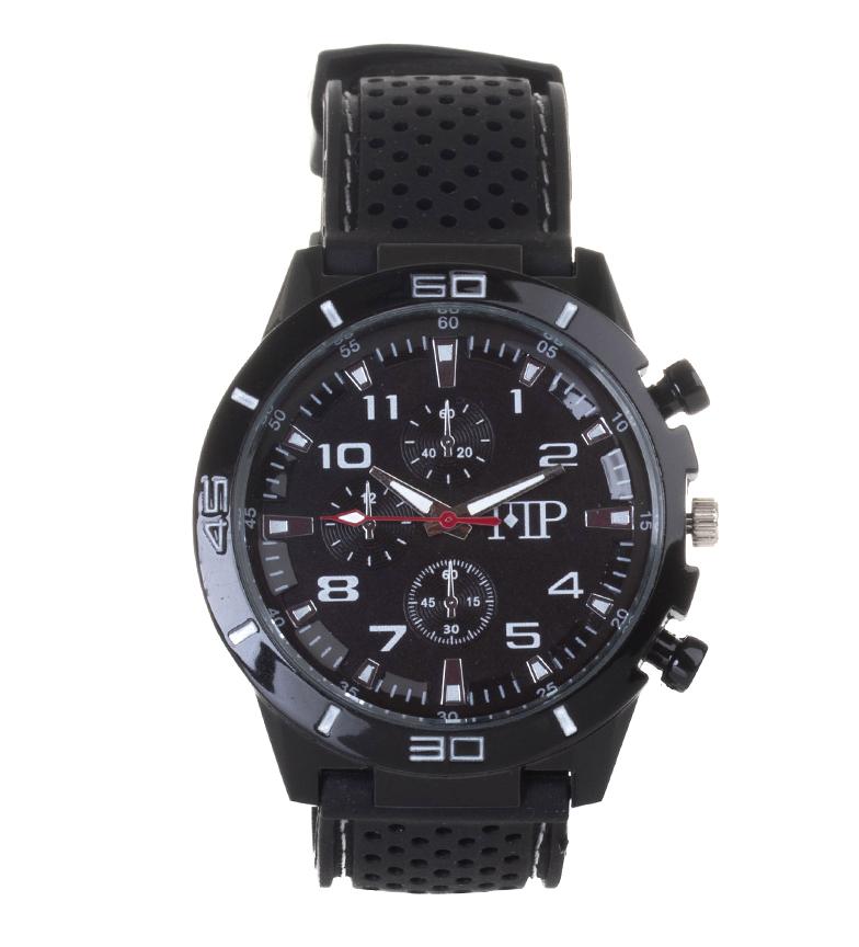 Comprar Marsan Piel Reloj analógico Quick negro, blanco