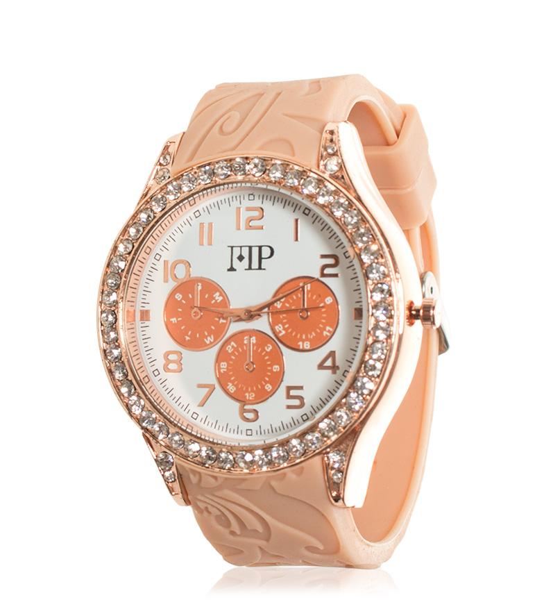 Comprar Marsan Piel Reloj analógico Rim naranja