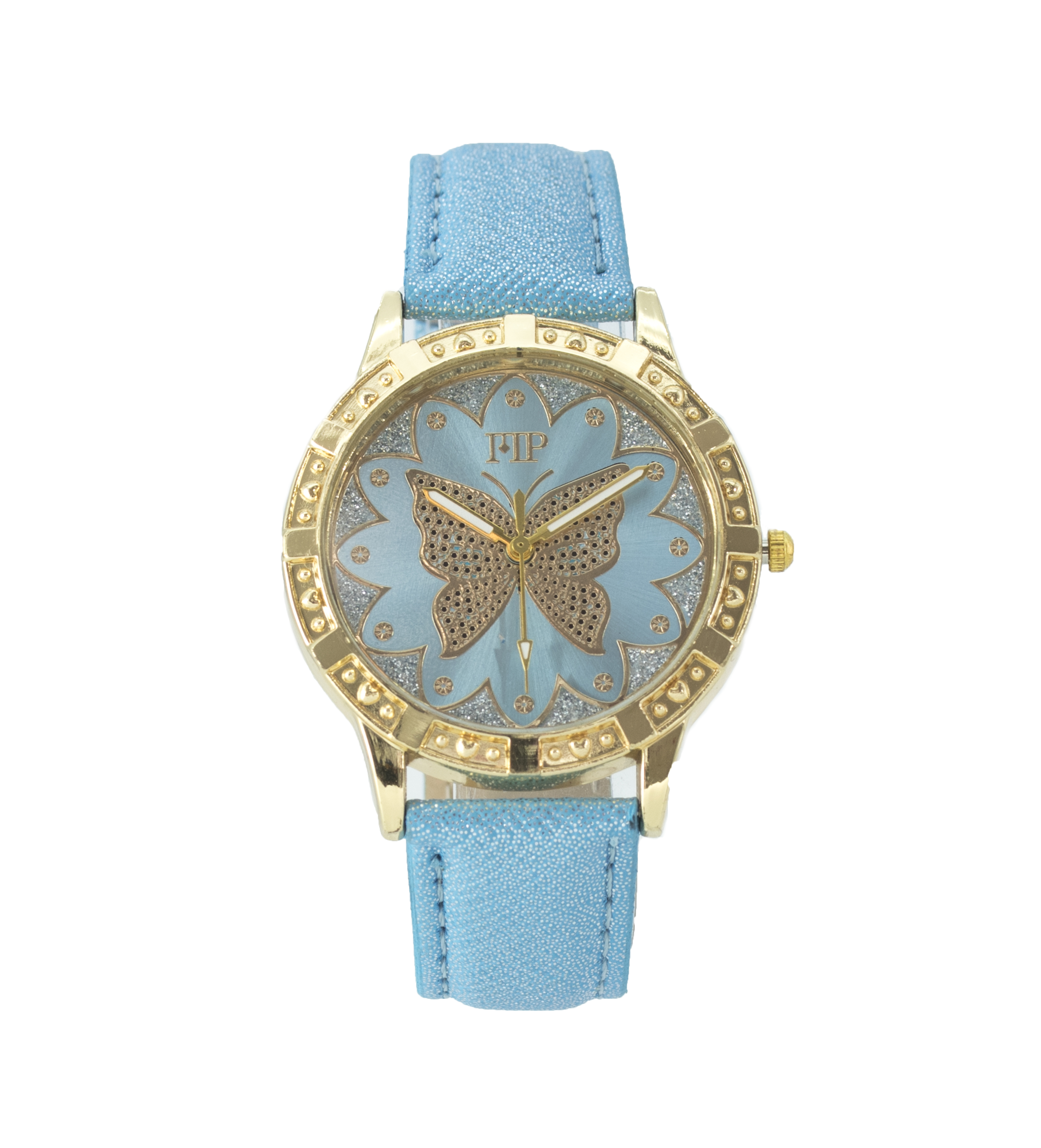 Comprar Marsan Piel Analog clock Siza blue