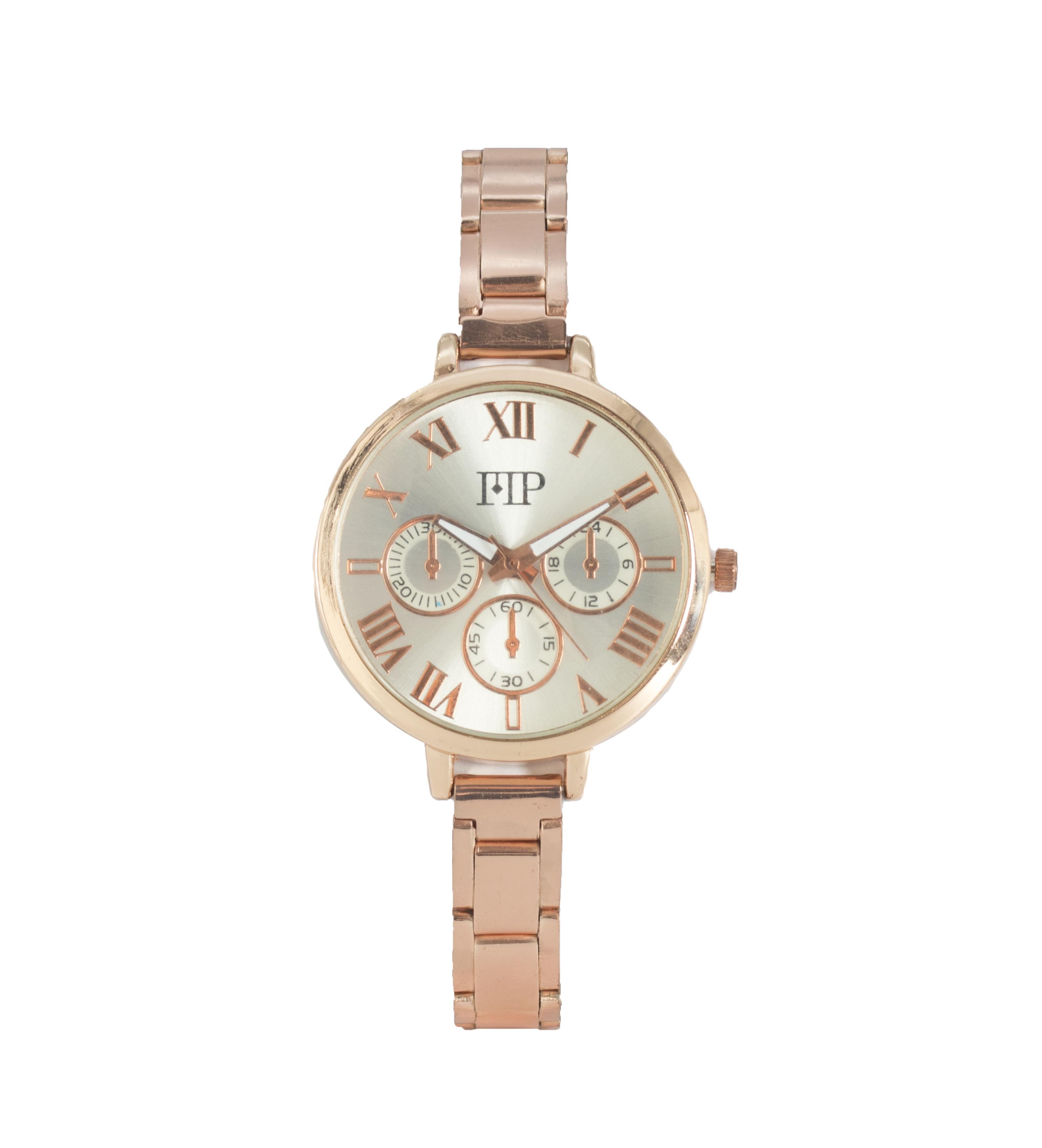Comprar Marsan Piel Analogical clock Vic copper