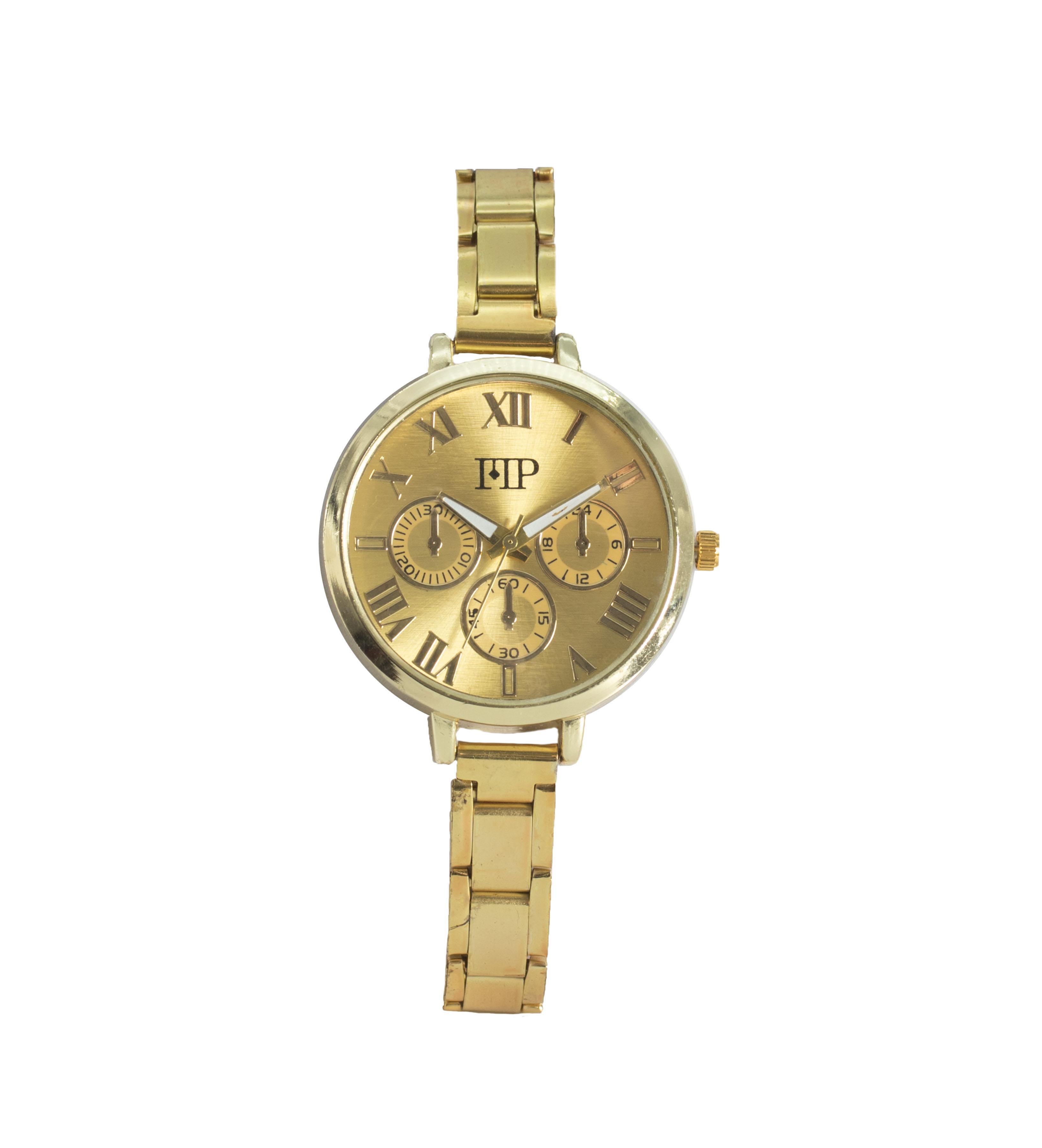 Comprar Marsan Piel Reloj analógico Vic oro