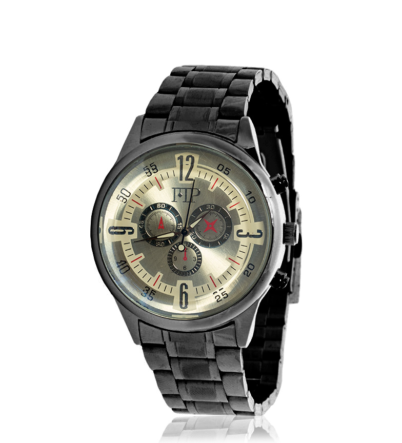 Comprar Marsan Piel Reloj analógico Zep blanco, negro