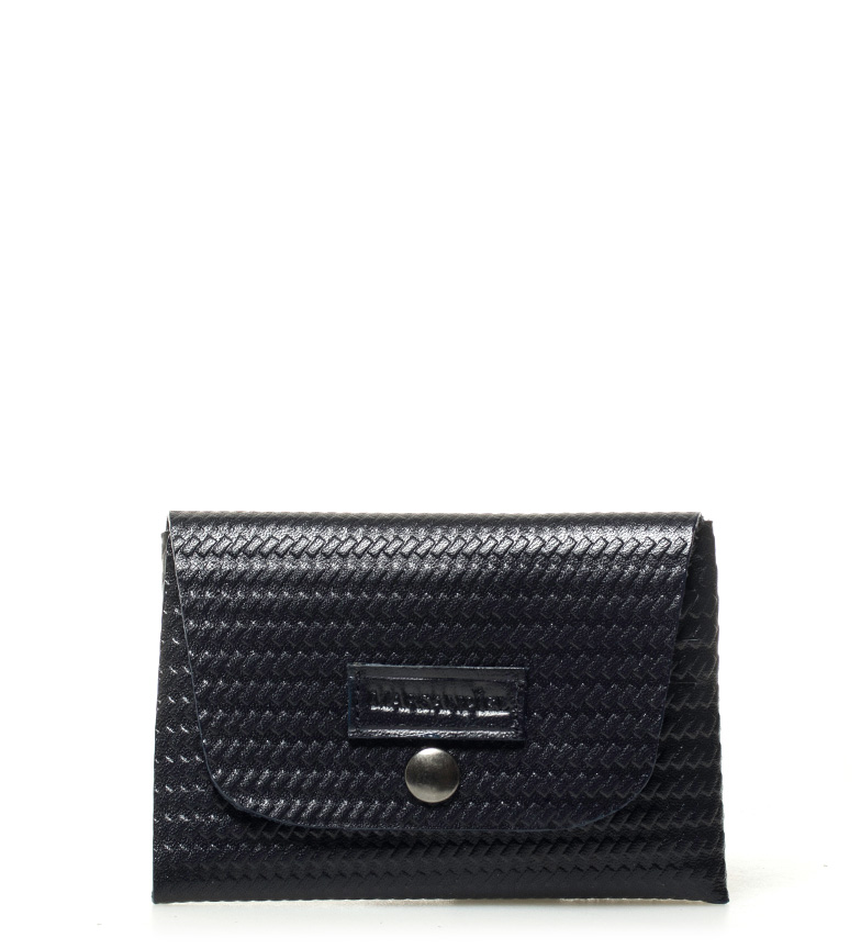 Comprar Marsan Piel Leather card holder Thinking of you marine -10,5x7,5cm-