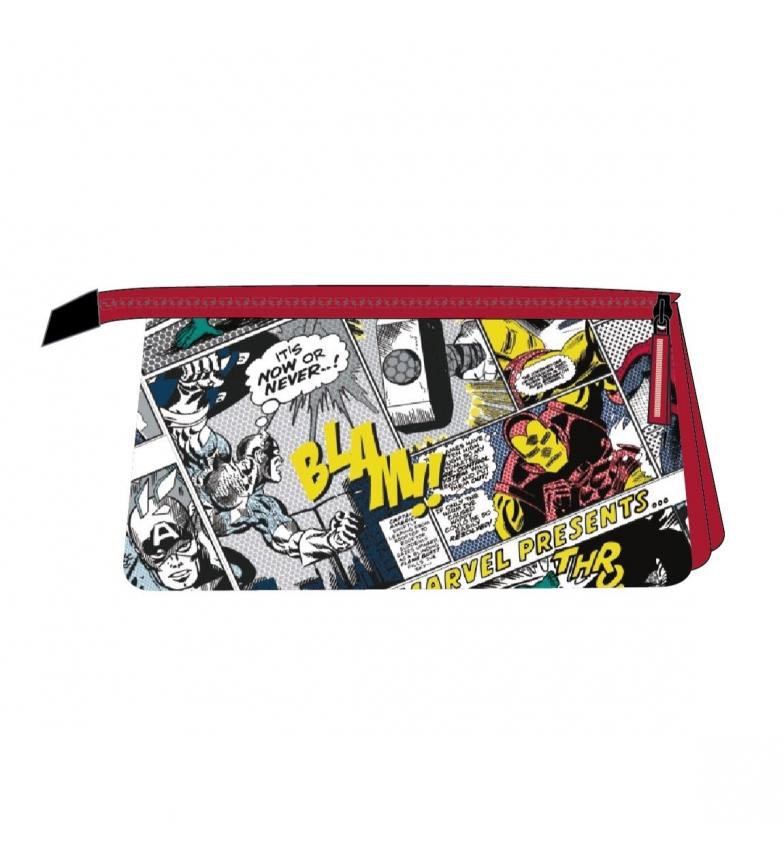 Comprar Marvel Flat 3 compartimentos Estojo/ livro Marvel vermelho -23x12,5x3cm