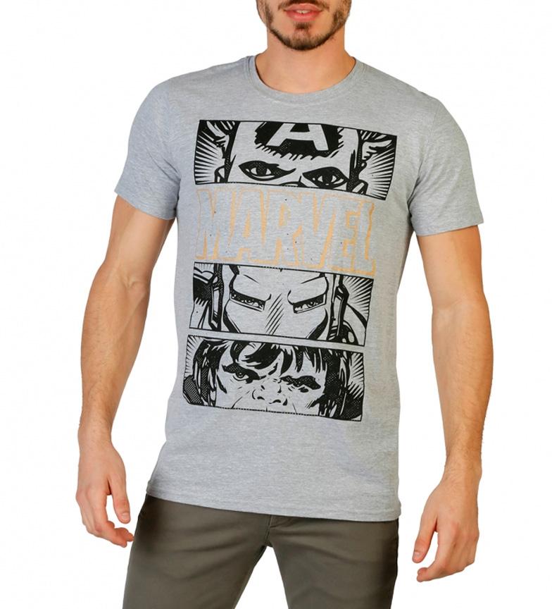Marvel Camiseta Marvel gris