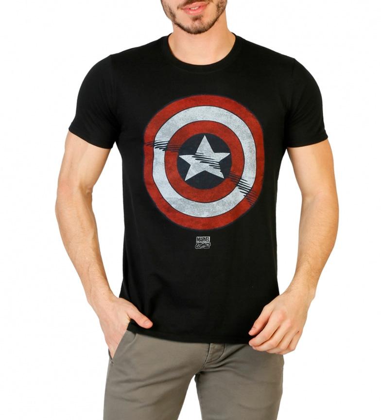Kaptein Vidunder Svart Skjorte Amrica kvalitet 75HrlZnLu