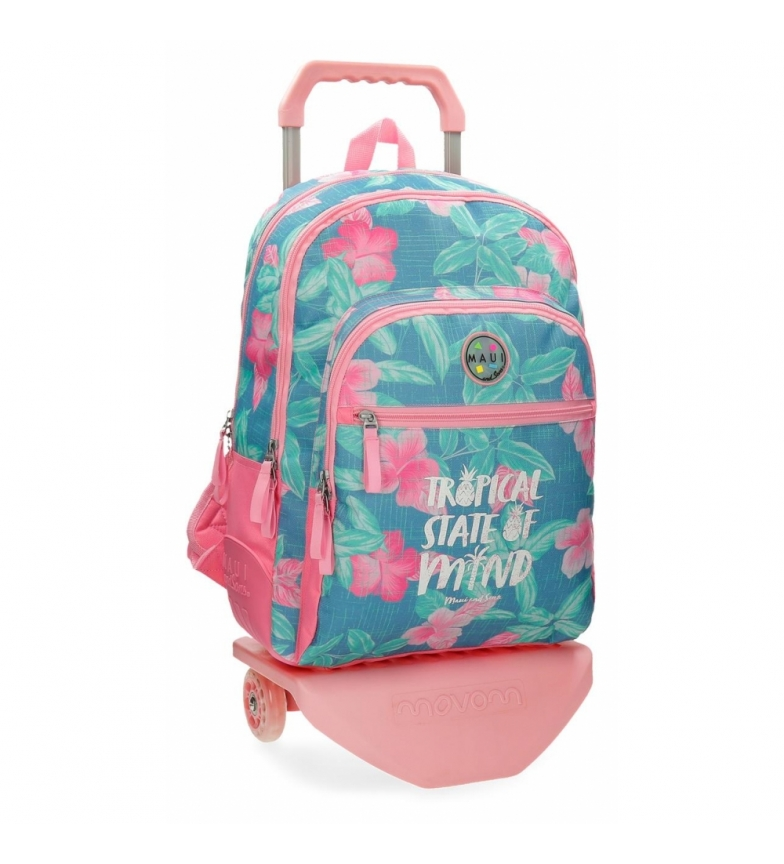 Comprar Maui and Sons Backpack with trolley Tropical State -33x44x13.5cm