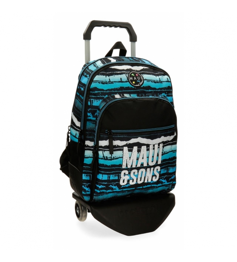 Comprar Maui and Sons Backpack with trolley Waves -33x44x13.5cm
