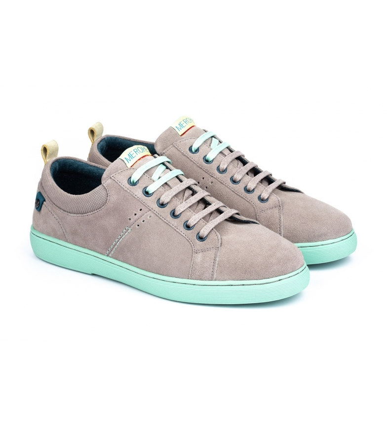 Comprar Merohe Leather shoes Dione Nuuk grey