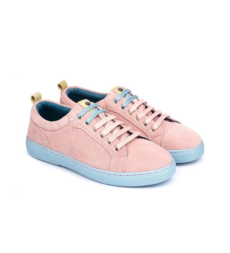 Comprar Merohe Zapatillas de piel Mimas Belice rosa