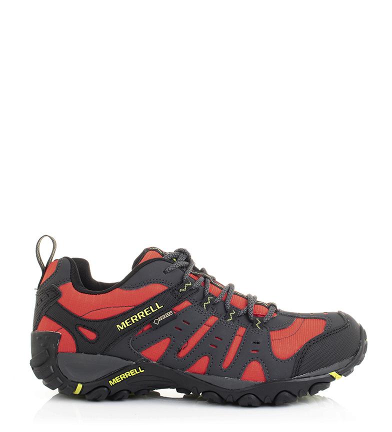 Comprar Merrell Accentor Sport GORE-TEX Sapatos de couro cinza, vermelho / 780g