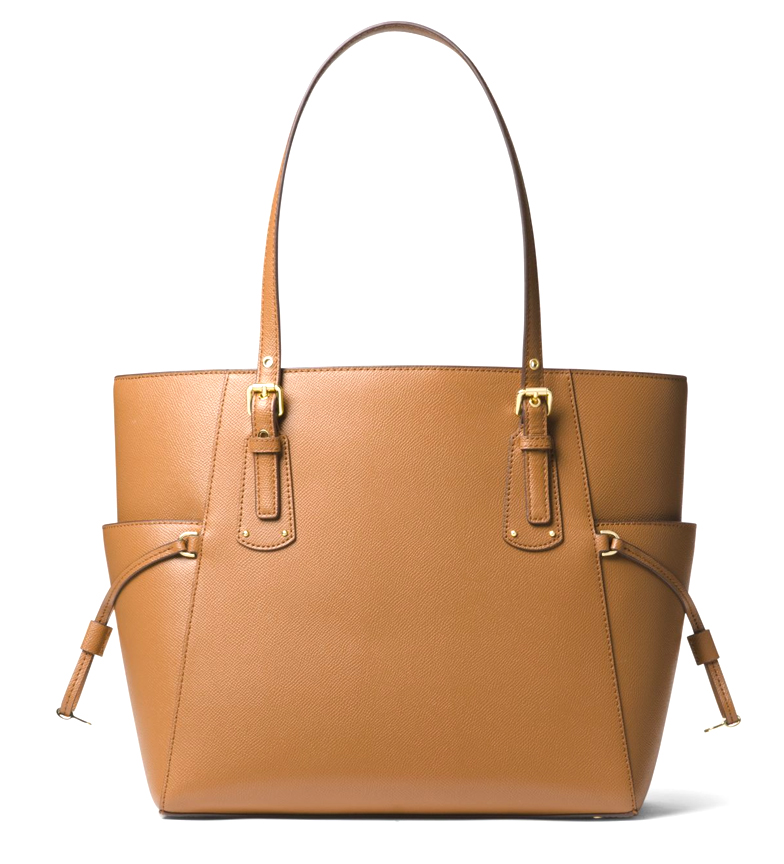 Michael-Kors-Borsa-in-pelle-marina-Tote-Voyager-37-5x27-9x15-9x15-9cm-Donna miniatura 3