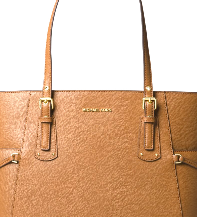 Michael-Kors-Borsa-in-pelle-marina-Tote-Voyager-37-5x27-9x15-9x15-9cm-Donna miniatura 5
