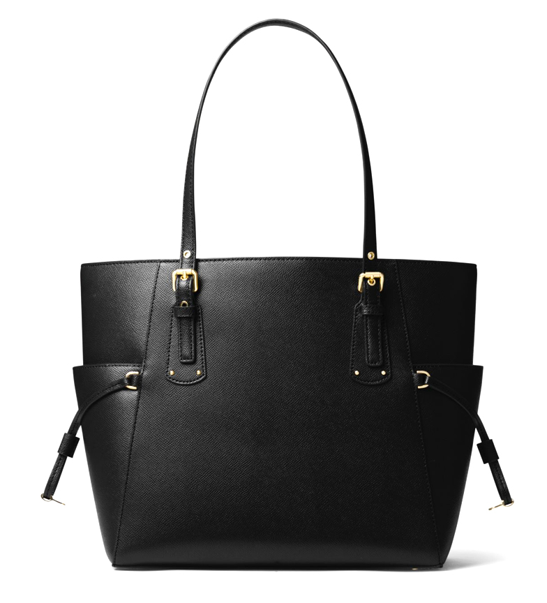 Michael-Kors-Borsa-in-pelle-marina-Tote-Voyager-37-5x27-9x15-9x15-9cm-Donna miniatura 7