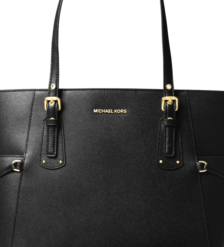Michael-Kors-Borsa-in-pelle-marina-Tote-Voyager-37-5x27-9x15-9x15-9cm-Donna miniatura 9