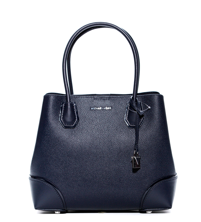 Comprar Michael Kors Mercer Gallery leather tote bag marine medium -33x24,1x14cm-