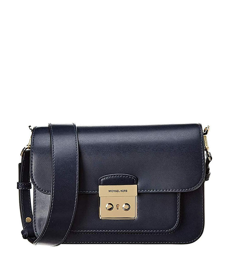 Comprar Michael Kors Marine Sloan leather bag -22,9x16,5x6,4cm