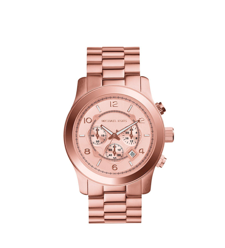 Comprar Michael Kors Montre chronographe de piste chronographe rose doré