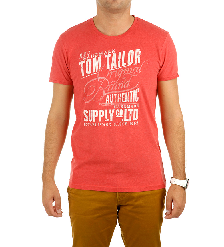 Tom Tailor Camiseta Supply gris