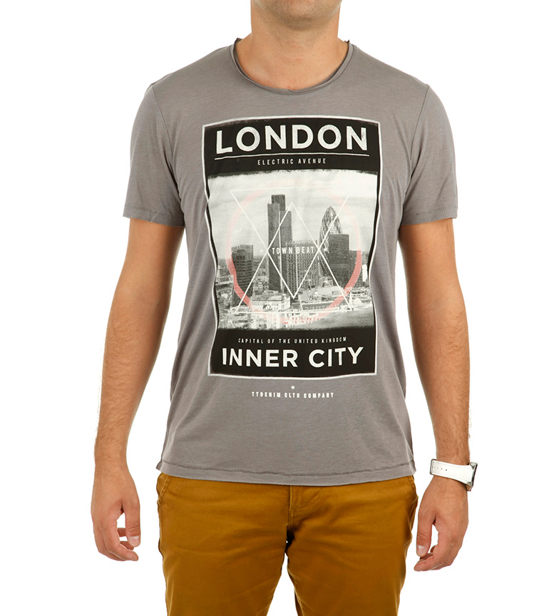 Tom Tailor Camiseta London rojo