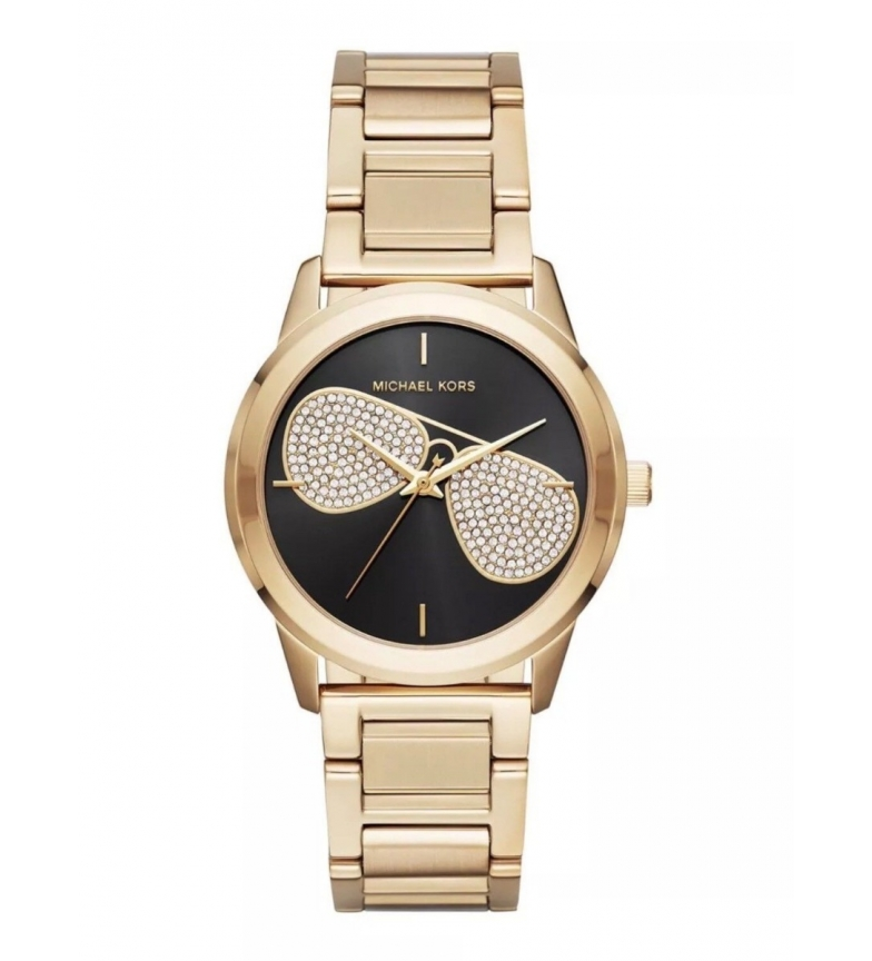 Comprar Michael Kors MK3647 oro, orologio analogico nero