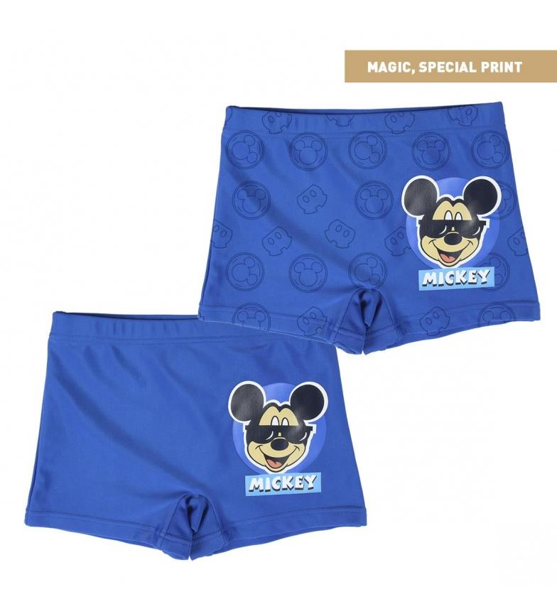 Comprar Mickey Boxer Mickey Magic Print costume da bagno blu