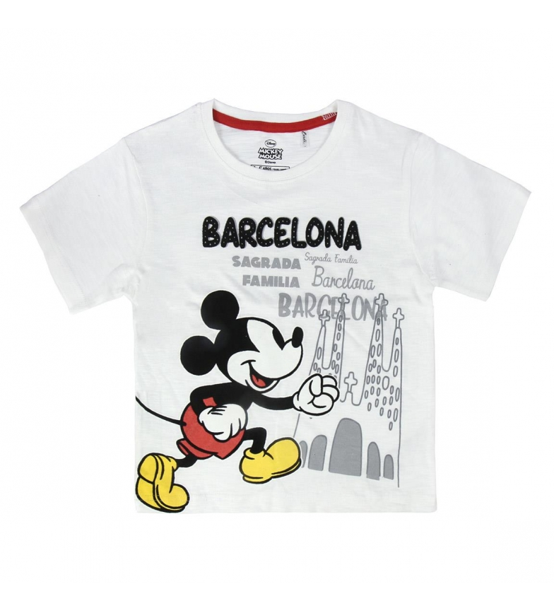 Comprar Cerdá Group Camiseta  Single Jersey Mickey Barcelona blanco