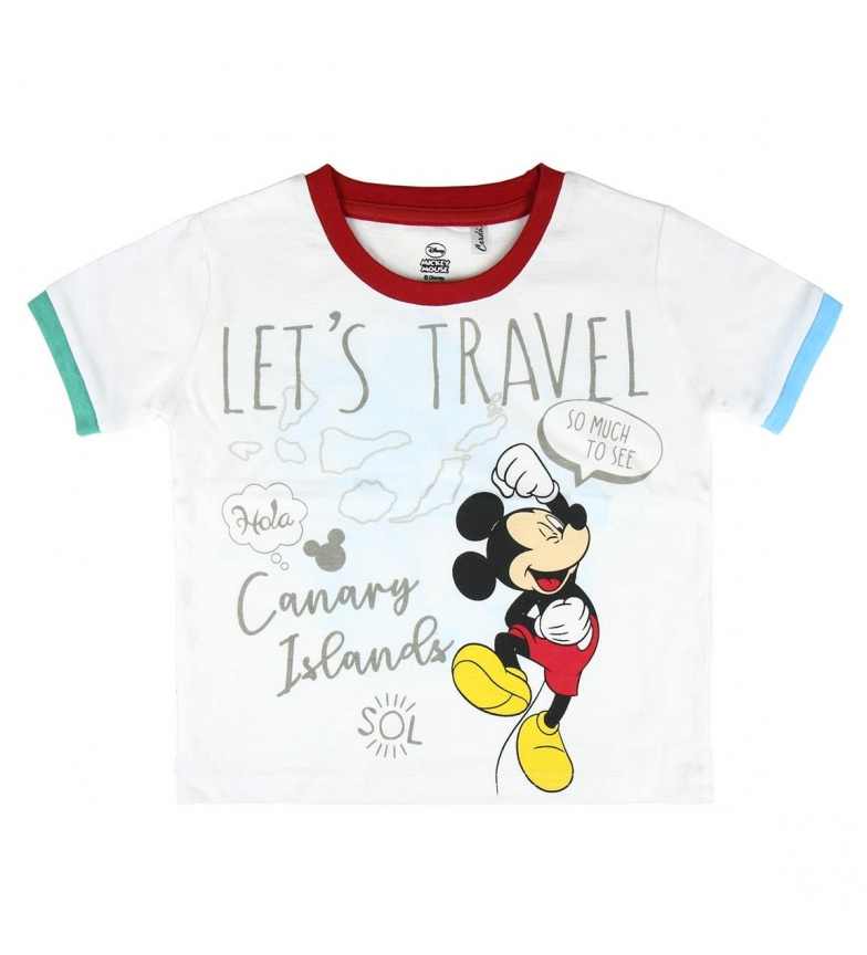 Comprar Mickey Camiseta Corta Mickey 2200004928 blanco