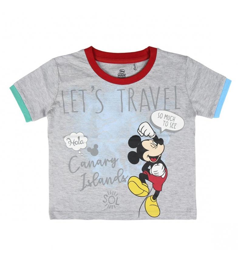 Comprar Mickey Camiseta Corta Mickey 2200004928 gris