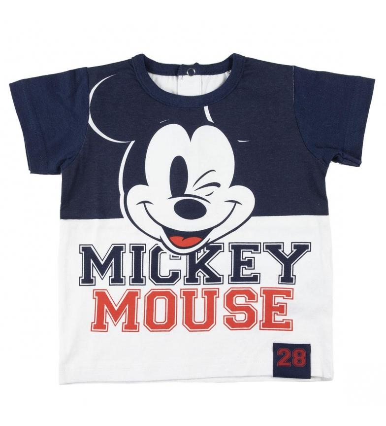 Comprar Cerdá Group Navy Blue Mickey Single Jersey Short T-Shirt