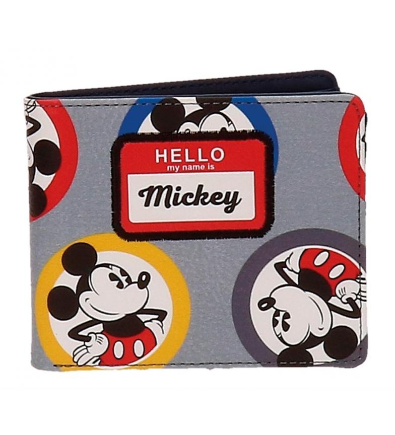 Comprar Mickey Mickey Círculos carteira multicolor