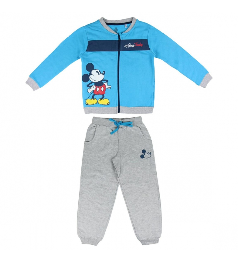 Comprar Mickey Chándal Brush Fleece Mickey azul, gris