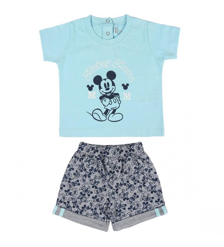 Comprar Cerdá Group Conjunto 2 Piezas Single Mickey azul