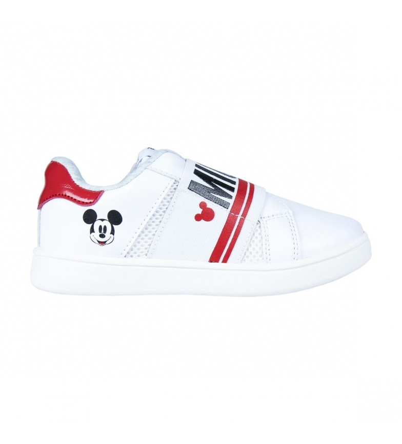 Comprar Mickey Scarpe Mickey White Low Profile
