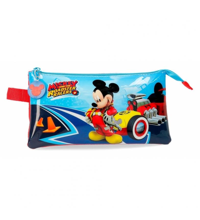 Comprar Mickey Etui trois compartiments Lets Roll Mickey -22x12x5x5cm