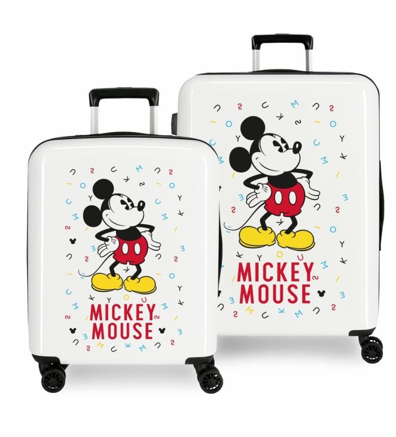 Comprar Mickey Case set 38.4L-81L Style rigid letters -40x55x20cm / 48x70x26cm